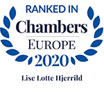 Lise Lotte Hjerrild - Chambers Europe 2017